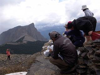バージェス頁岩登頂記: 古生物マニア必見の地 バージェス頁岩に行ってきました バージェス頁岩登頂